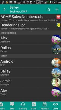 DW Contacts & Phone & Dialer apk screenshot