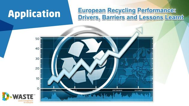 European Recycling Performance poster
