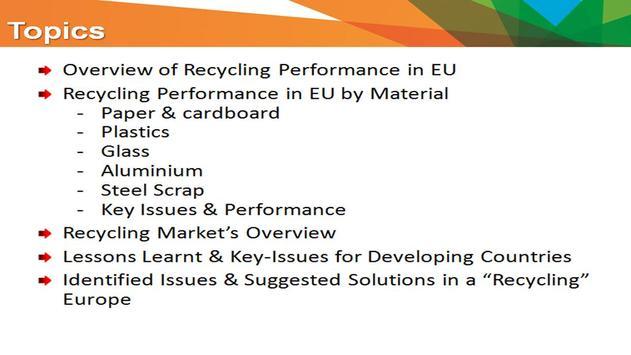 European Recycling Performance apk screenshot
