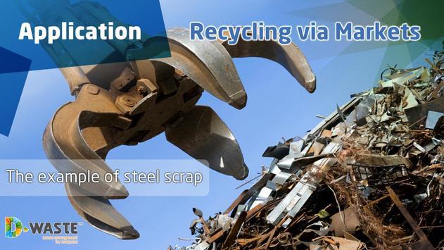 Recycling via Markets poster