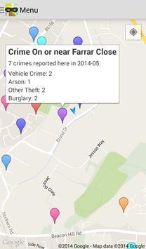 UK Police Crime Map apk screenshot