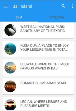Bali Island poster