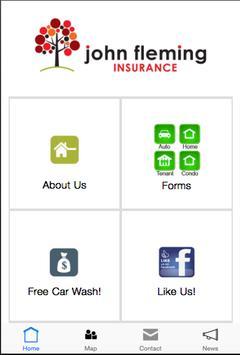 John Fleming Insurance Agency poster