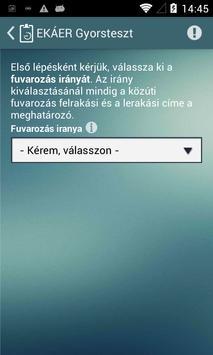 EKAER Kalkulátor apk screenshot