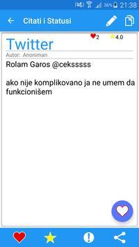 Citati i Statusi apk screenshot