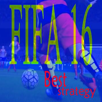 Best Strategy play FIFA16 poster