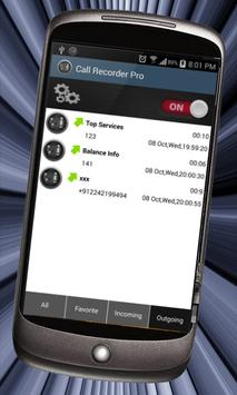 Enregistrement-appel gratuite apk screenshot