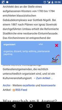 DaF Perfekt Almanca Sözlük apk screenshot