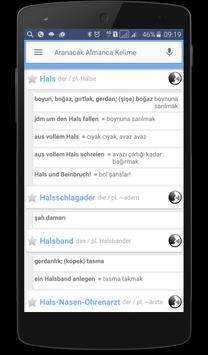 DaF Perfekt Almanca Sözlük poster