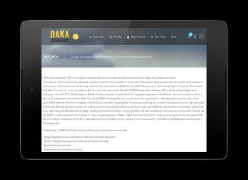 DAKA Technology poster