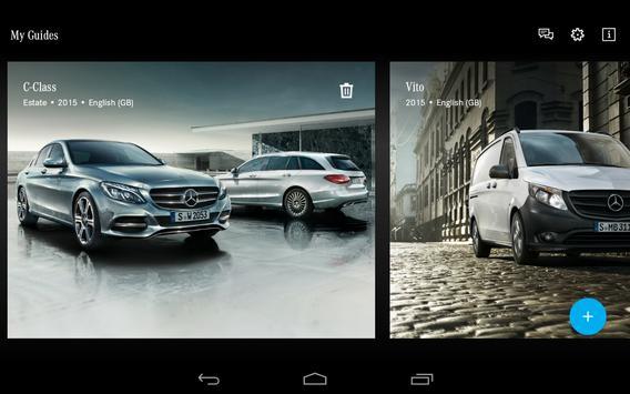 Mercedes-Benz Guides apk screenshot