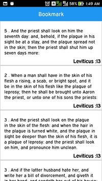 Holy Bible Offline Free apk screenshot