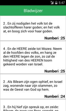 Dutch BibleOffline apk screenshot