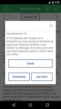 French Bible Offline apk screenshot