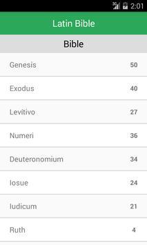 Latin Bible Offline apk screenshot