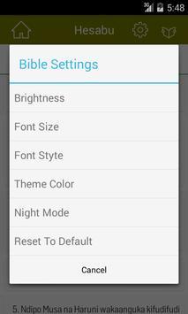 Swahili Bible Offline apk screenshot