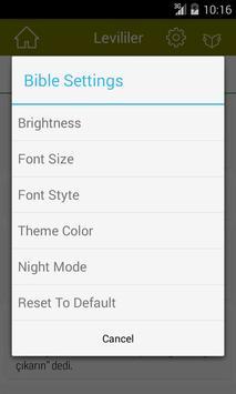 Turkish Bible Offline apk screenshot