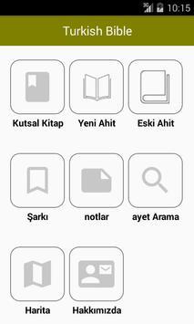 Turkish Bible Offline poster