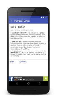 Daily Bible Verse apk screenshot