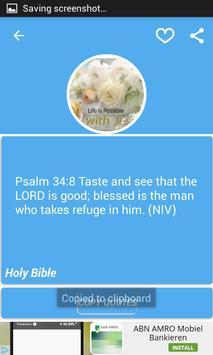 Inspirational Bible Quotes apk screenshot