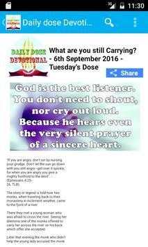 Daily Dose Devotionals apk screenshot