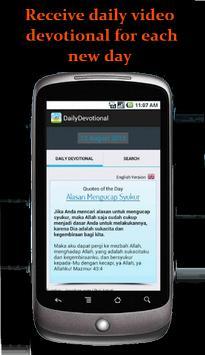 My Daily Devotion Bible App apk screenshot