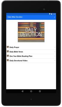 Daily Bible Devotion poster