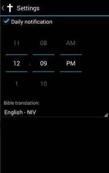 Bible verse of the day apk screenshot