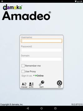 Amadeo-UCC apk screenshot