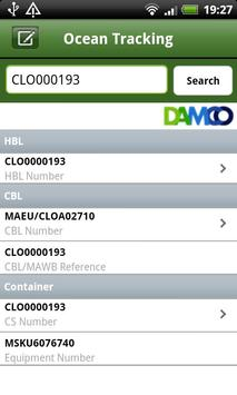 Damco apk screenshot