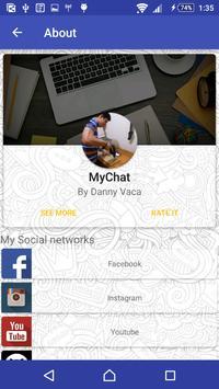 MyChat apk screenshot