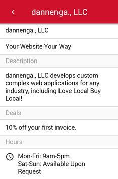 Love Local Buy Local apk screenshot