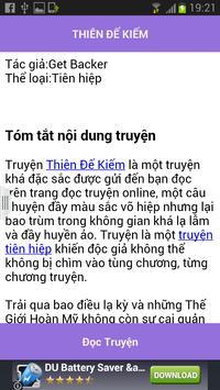 Thien de kiem - FULL apk screenshot