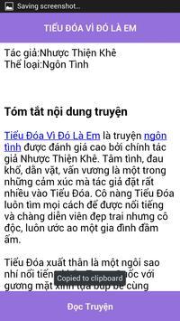 Tieu Doa vi do la em - FULL apk screenshot