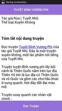 Tuyet dinh vuong phi - FULL apk screenshot
