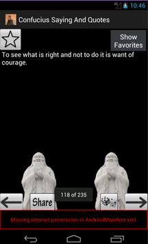 Confucius Saying And Quotes poster