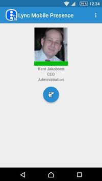 Mobile Presence Skype Business apk screenshot