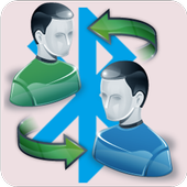 Contacts Xchange Bluetooth icon