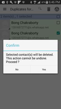 Duplicates for WhatsApp apk screenshot