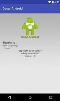 Basic Android poster