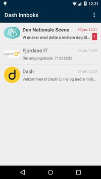 Dash Inbox poster