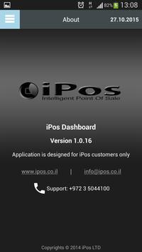 iPos Dashboard apk screenshot