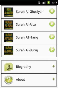 Quran Mp3 - Muhammad Luhaidan apk screenshot