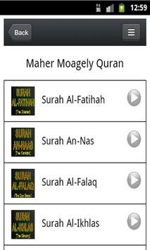 Quran MP3 - Maher Moagely poster