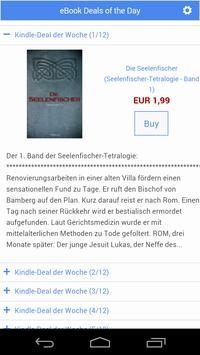 eBook Deals apk screenshot