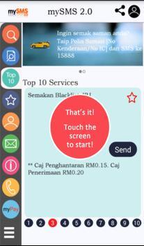 mySMS2.0 apk screenshot