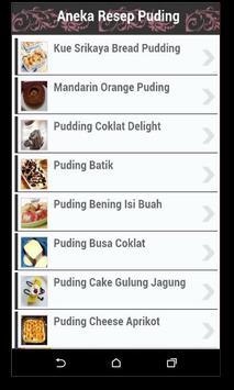 Resep Puding Lengkap apk screenshot