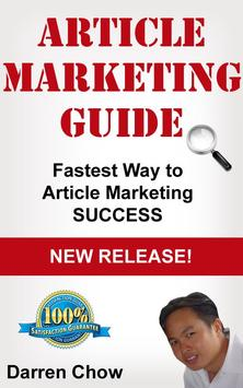 Article Marketing Guide poster
