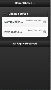 Darren Chow Updates apk screenshot
