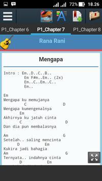 Kunci Gitar Rana Rani apk screenshot
